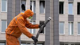 Putin's coronavirus crisis deepens with fatal hospital fire and spokesman's diagnosis