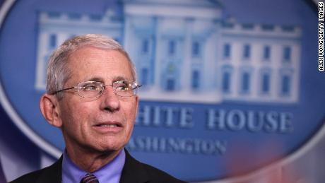 The decision to reopen schools needs to be predicated on the level of infection in each community, Fauci told CNN.