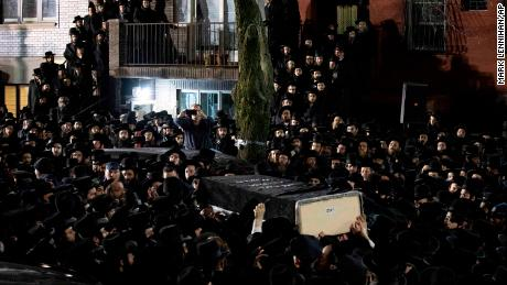 A funeral was held on December 11, 2019, in Brooklyn for an Orthodox Jewish man killed in a targeted attack in Jersey City.