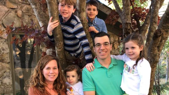 John Gentile pictured here with his family. He believes he can help the vaccine effort by participating in a challenge study.