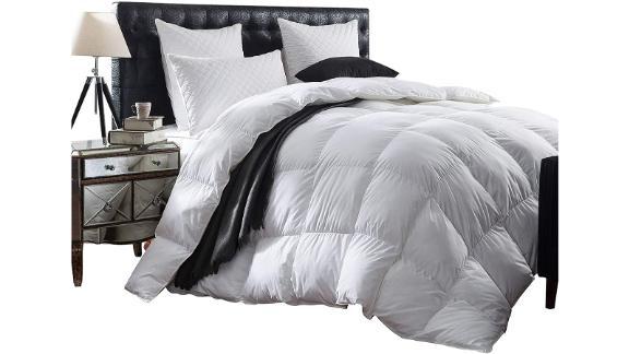 Luxurious 1200-Thread Count Goose Down Comforter
