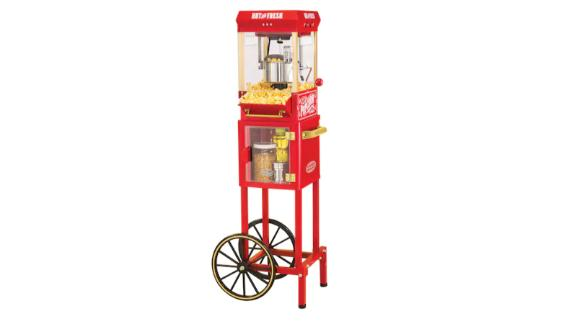 Nostalgia Electrics Kettle Popcorn Cart