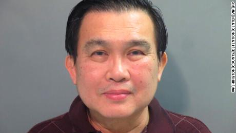 The FBI arrested Simon S. Ang, 63, on Friday, the Justice Department said.