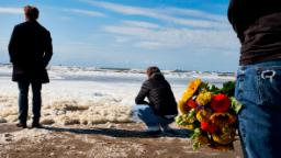 Five surfers die in the Netherlands after huge layer of sea foam hampers rescue