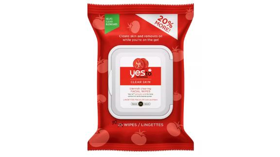 Yes to Tomatoes Blemish Clearing Facial Wipes, 30-Count