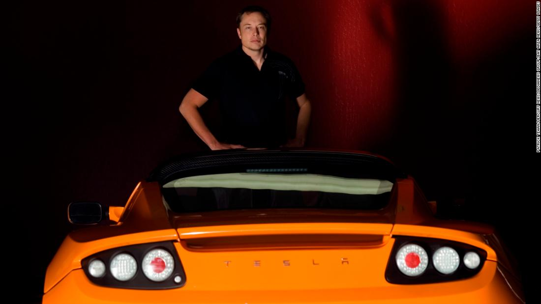 In 2008, Musk became CEO and product architect of Tesla Motors. Years earlier, he had joined the electric-car company as chairman of the board, overseeing its initial round of investment funding.