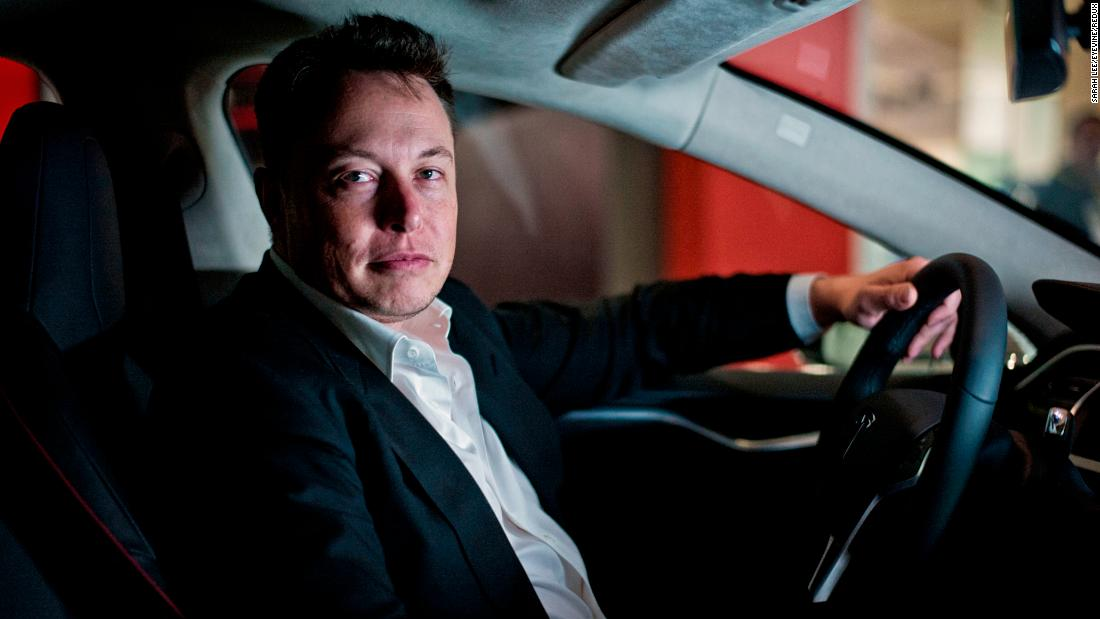 Elon Musk, the CEO of SpaceX and Tesla Motors, poses for a photo in 2013.