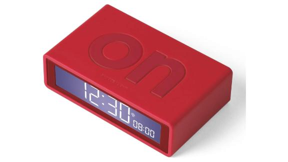 Flip + Alarm Clock