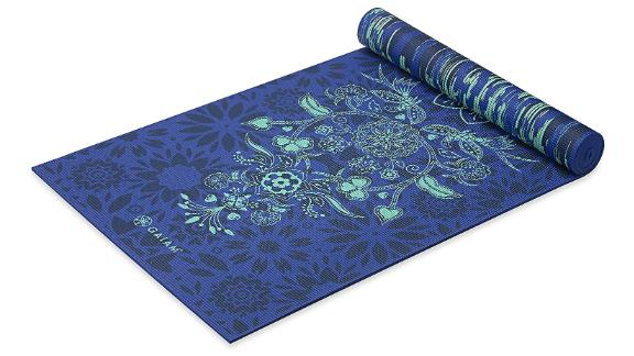 Premium 6mm Print Reversible Extra Thick Gaiam