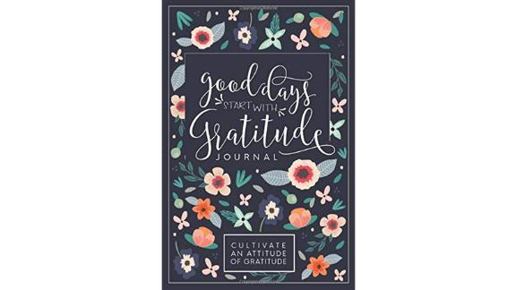 """Good Days Start With Gratitude"" journal"