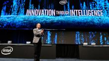 """Intel CEO Bob Swan said his company is """"uniquely positioned"""" to help the United States build up domestic semiconductor manufacturing capacity."""