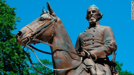 The Nathan Bedford Forrest statute before it was removed in 2017.