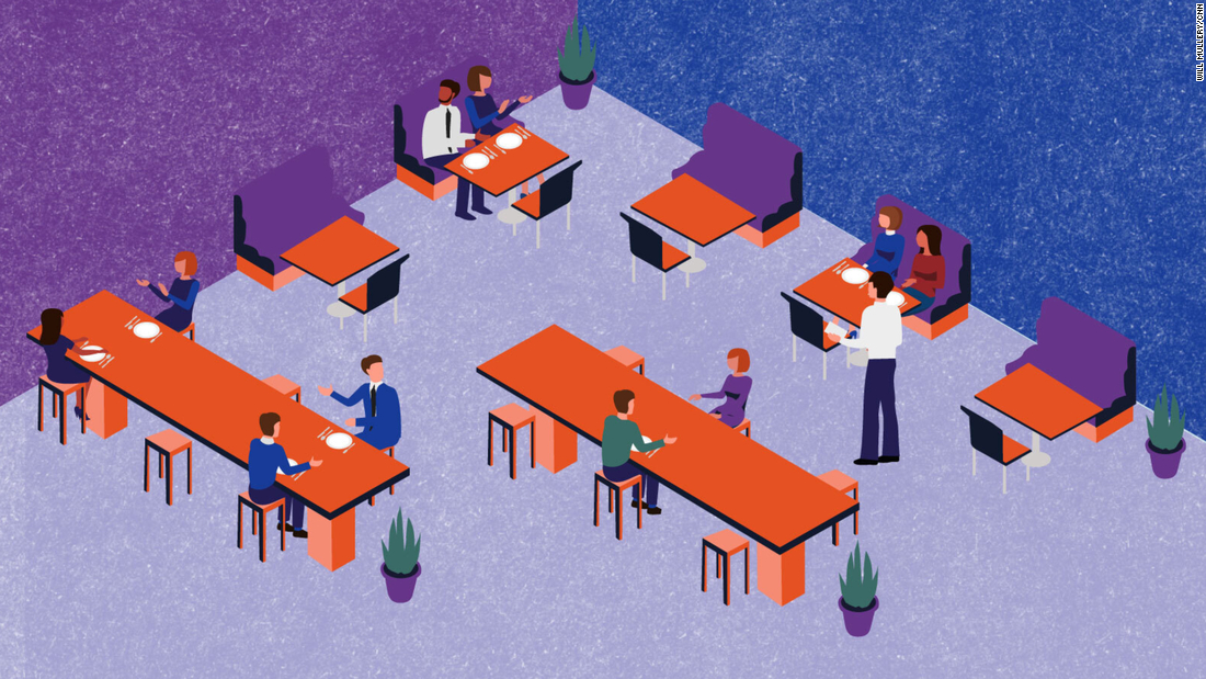 What Reopened Restaurants May Look Like