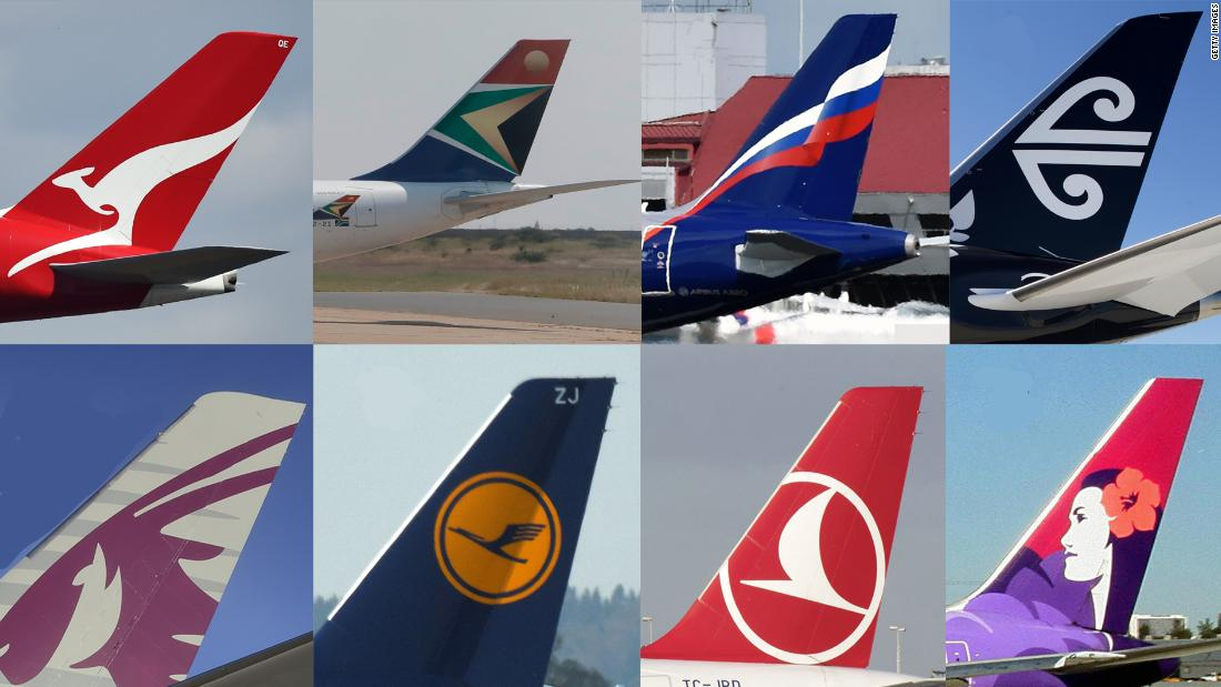 Quiz: Can you name all the airlines?