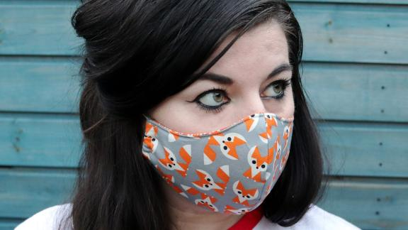 Handmade Cotton Two-Layer Face Mask