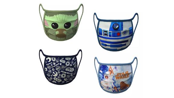 Star Wars Cloth Face Masks 4-Pack Set
