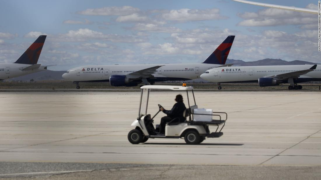Delta will have twice as many pilots as it needs this fall