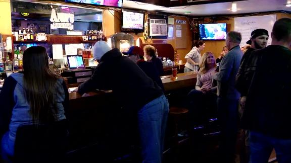 Image for Wisconsin bars reopen after court throws out stay-at-home order -- some with new rules