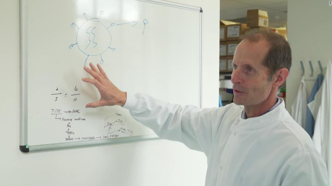 Meet the scientist working on a radical new vaccine