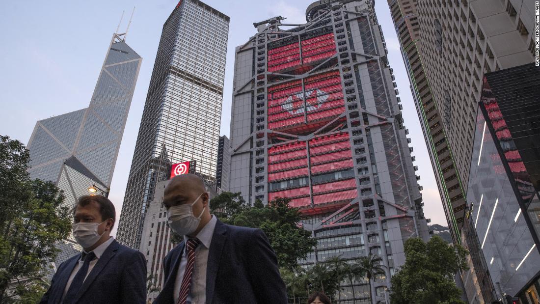 HSBC potrebbe dover scegliere tra est e ovest, poiché la Cina stringe la presa su Hong Kong