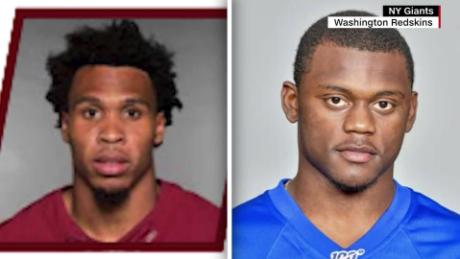 Two NFL players are wanted for allegedly robbing partygoers at gunpoint