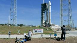 Atlas V rocket launch delayed by Cape Canaveral weather