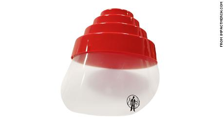 Devo's famous energy dome and face shield
