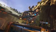 """Crucible"" is a free to play shooter available on PC and is set in an apocalyptic world where freelancers hunt monsters and collect essence."