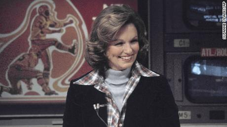 Phyllis George in a photo from 1976.