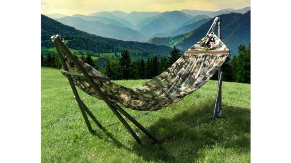 Ebern Designs Pantanella Camping Hammock with Stand