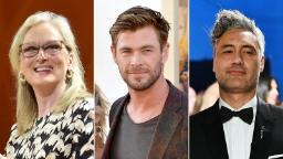 Meryl Streep and Chris Hemsworth among stars to join Taika Waititi for Roald Dahl charity reading