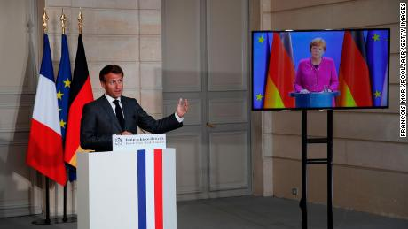 Germany and France try to break deadlock over how to rescue the EU
