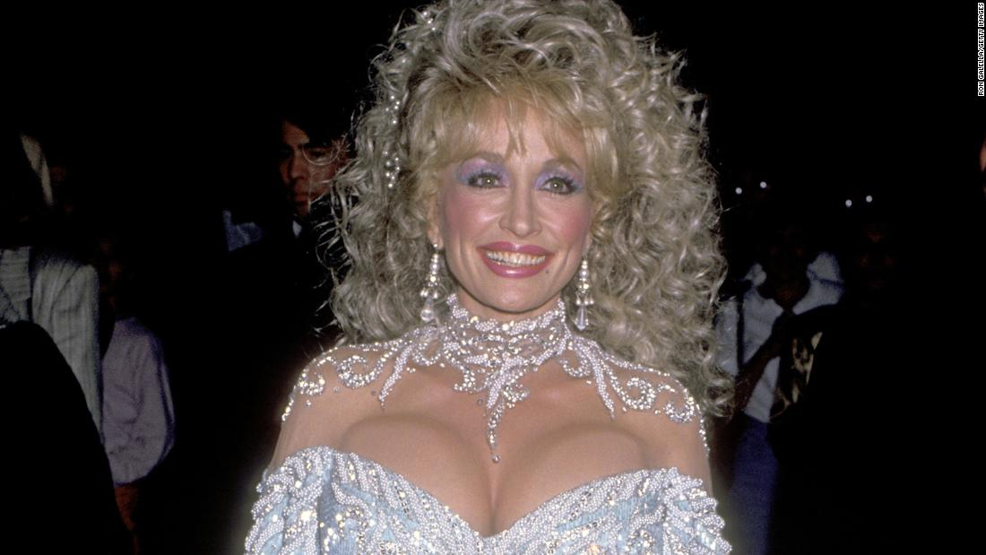 Remember when Dolly Parton fully subverted the 'dumb blonde' cliché with her 80s excess styling?