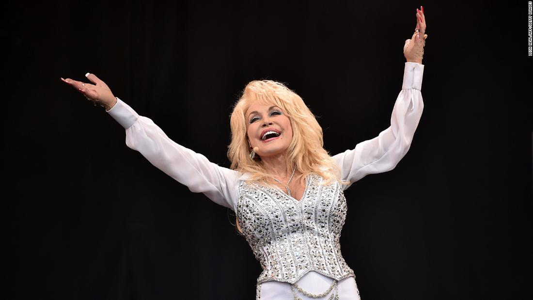 Dolly Parton has advice for a 'divided' America