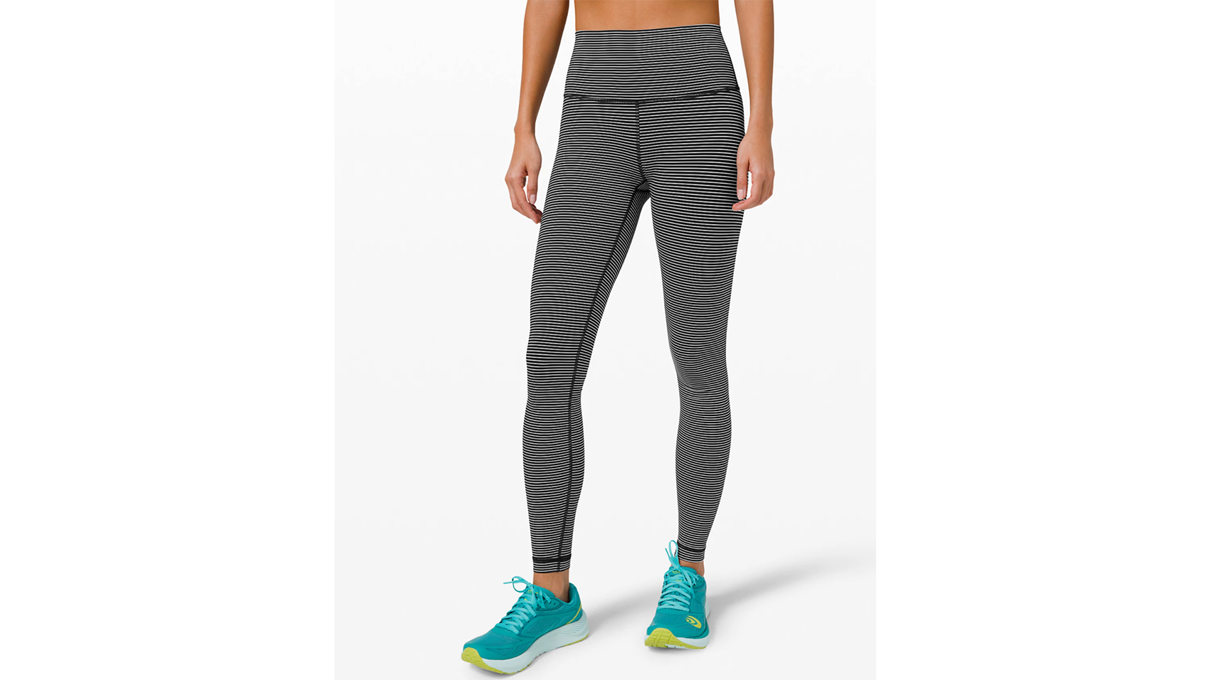 DEMOZU 25//28//31 High Waist Yoga Leggings Tummy Control Buttery Soft Workout Running Athletic Pants with Pockets