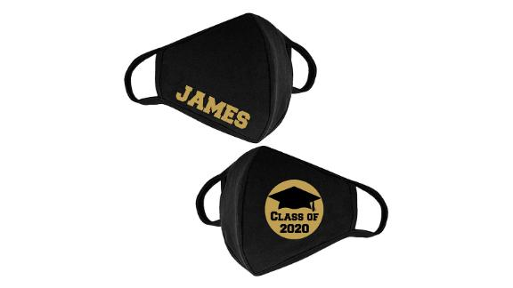 CLASS OF 2020 Customizable Reusable and Washable Face Mask