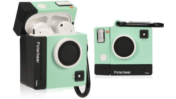 Lupct Green Camera Airpods-Compatible Case