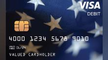 Your stimulus money can come in the mail on a debit card like this.