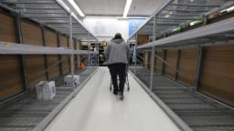 Panic shopping and hoarding gave Walmart a huge boost last quarter