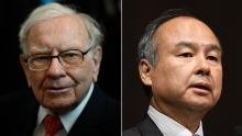 They're famous for their investments. But Warren Buffett and Masa Son keep striking out