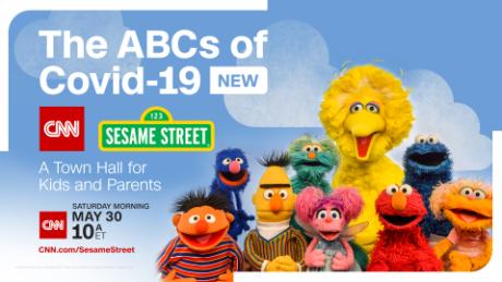 CNN and Sesame Street will host a second special coronavirus town hall for kids and parents on May 30