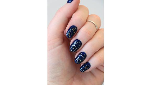 Constellation Nail Tattoos