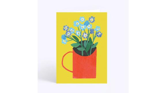 Forget-Me-Nots Greetings Card