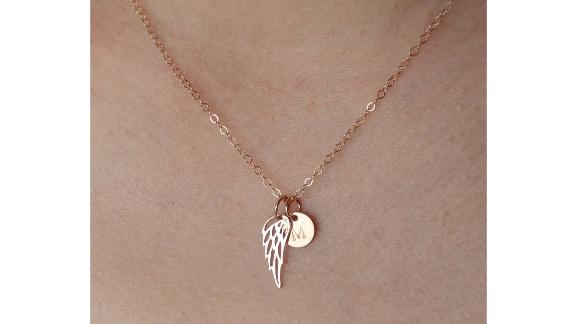 Memorial Angel Wing Necklace