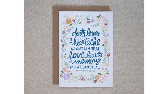Love Leaves a Memory Card