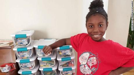 A 10-year-old girl has sent more than 1,500 art kits to kids in foster care and homeless shelters during the coronavirus pandemic