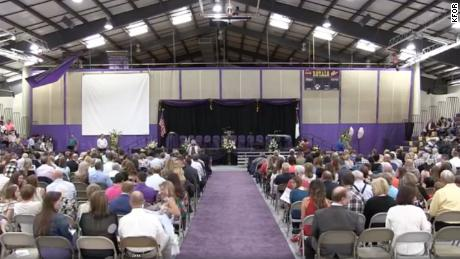 The Community Christian School in Norman, Oklahoma, held an in-person graduation ceremony on Saturday.