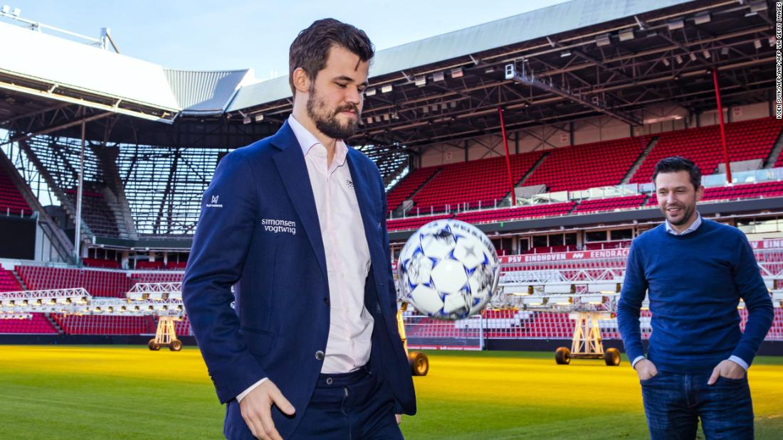 Magnus Carlsen has conquered chess. Now he sets his sights on fantasy football