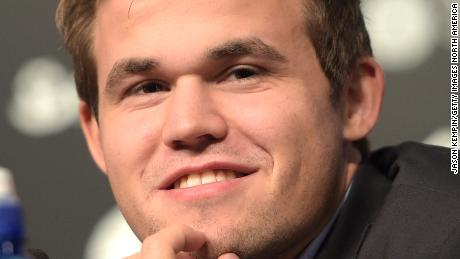 Magnus Carlsen: 'My emotions are usually outside my body.'