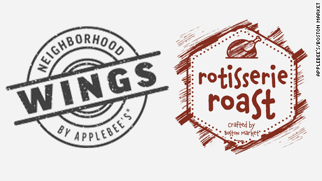 The logos for Neighborhood Wings and Rotisserie Roast.